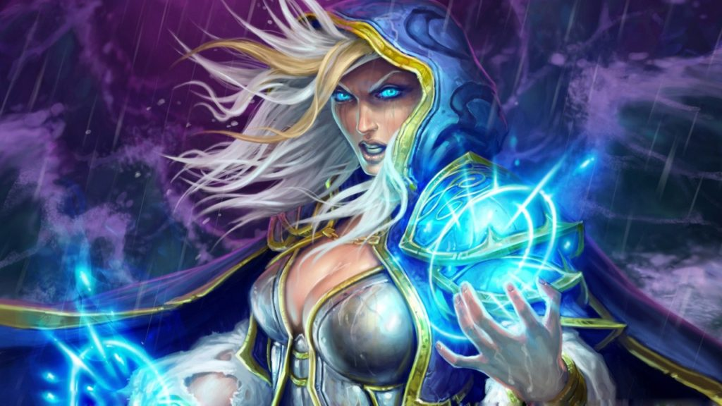Hearthstone legendary Master Jaina Wallpapers HD 1280x720