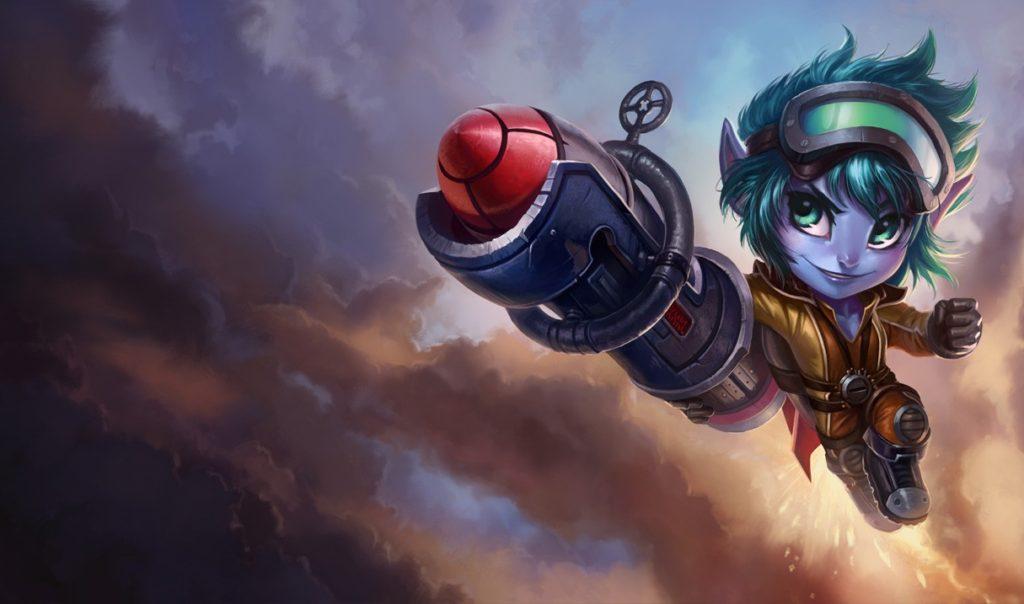 tristana-rocket-girl